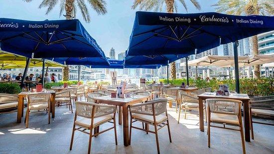 carluccio-s-dubai-mall - luxury travel - 5 best restaurants in Dubai