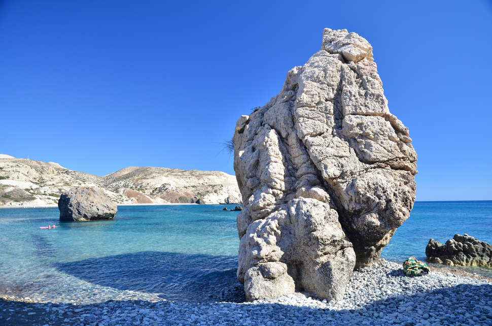 Aphrodite's Rock, Cyprus - Black Platinum Gold - Most landscape in Europe