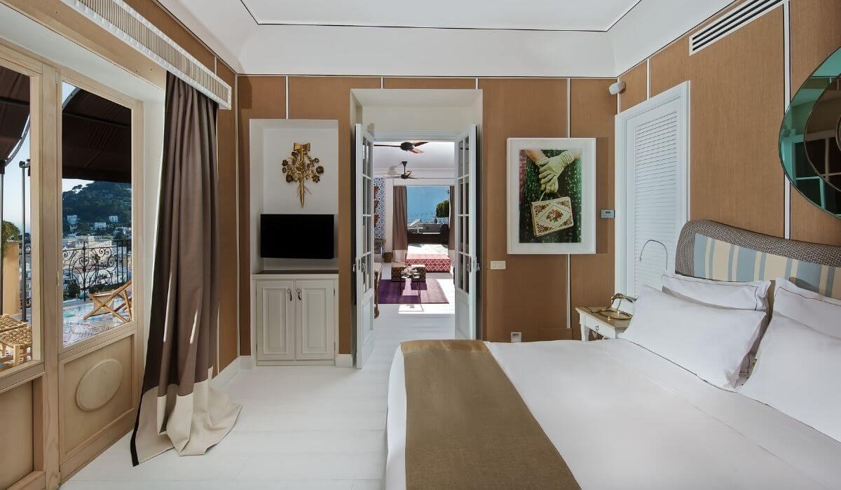 Capri Tiberio Palace – Glamorous Style in the Heart of Capri, Italy