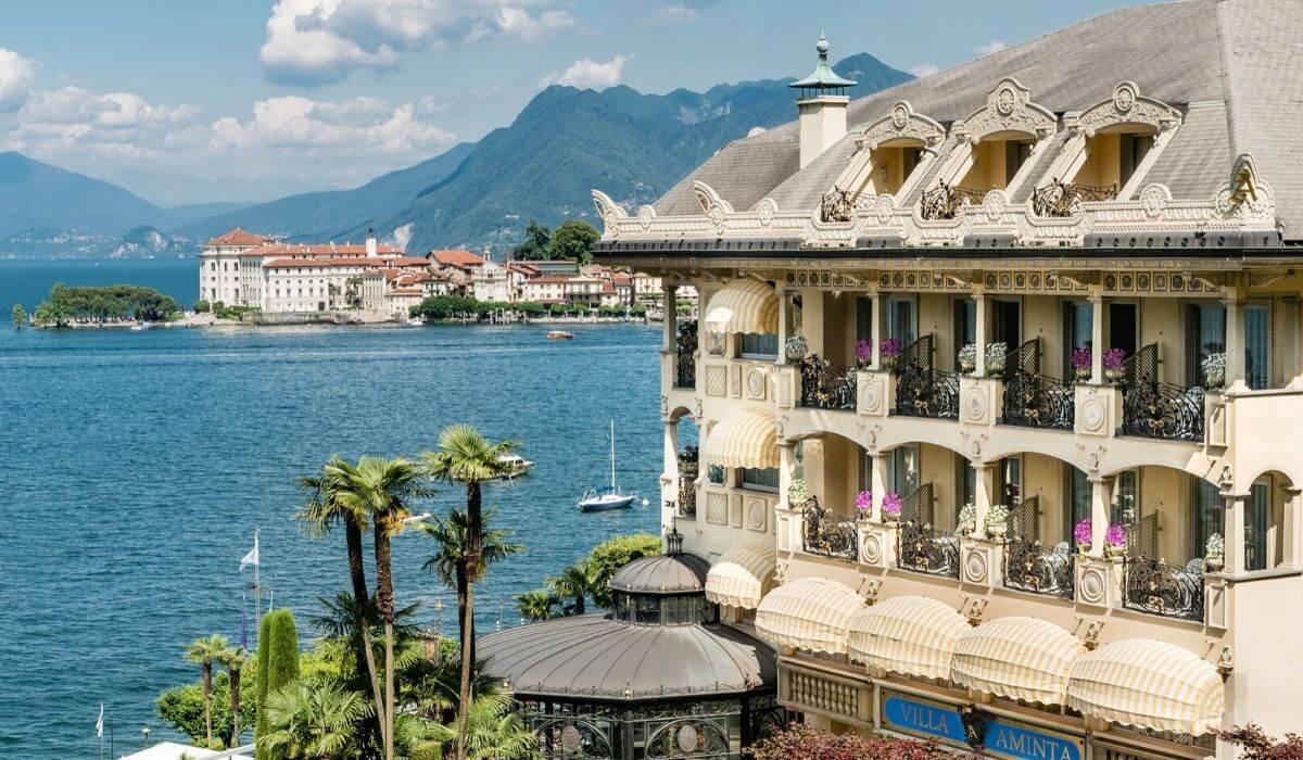 Villa & Palazzo Aminta – Unexpected Belle Époque Mansion on the Lake Maggiore, Italy