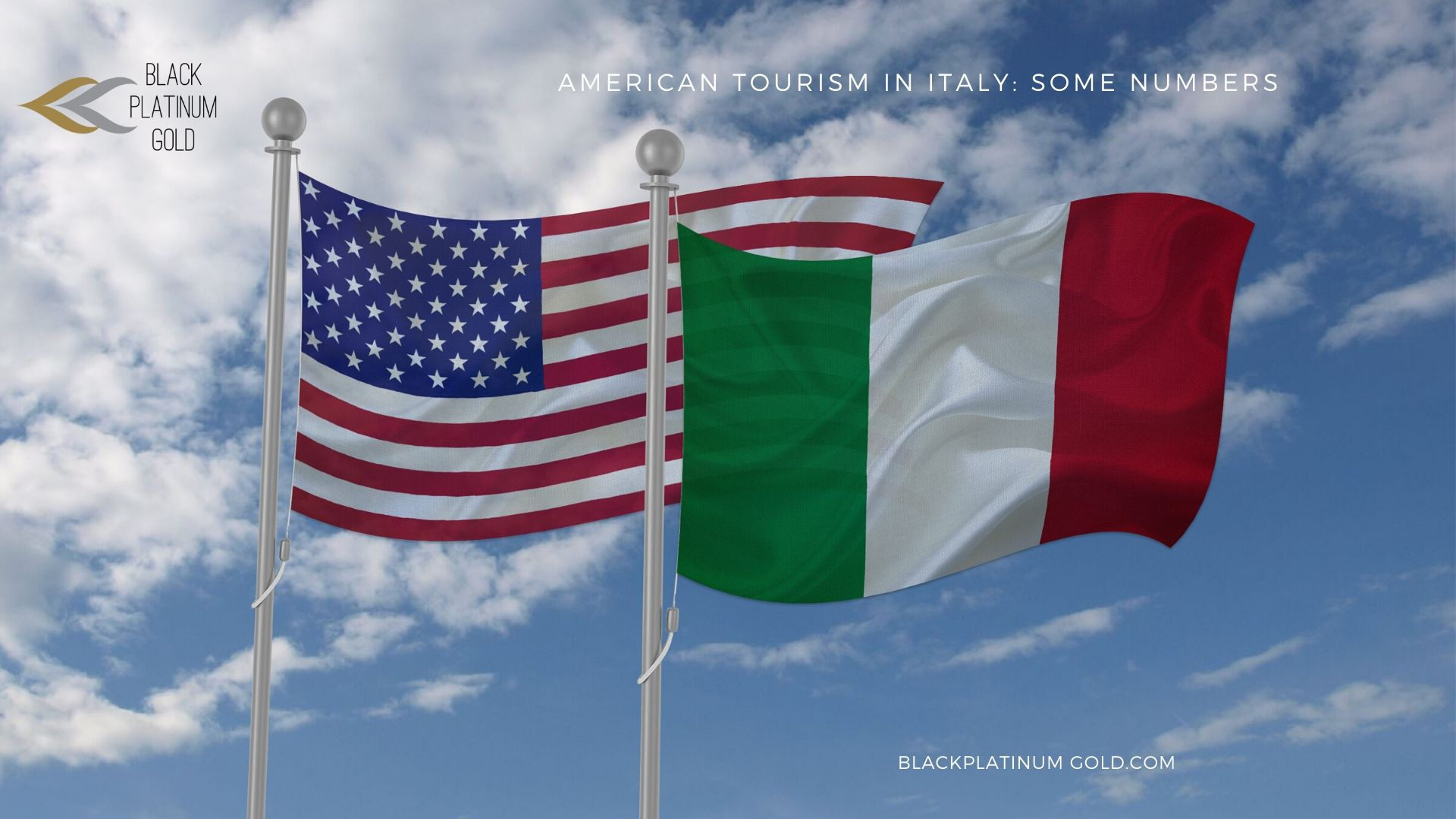 American tourism in Italy: some numbers - by Black Platinum Gold