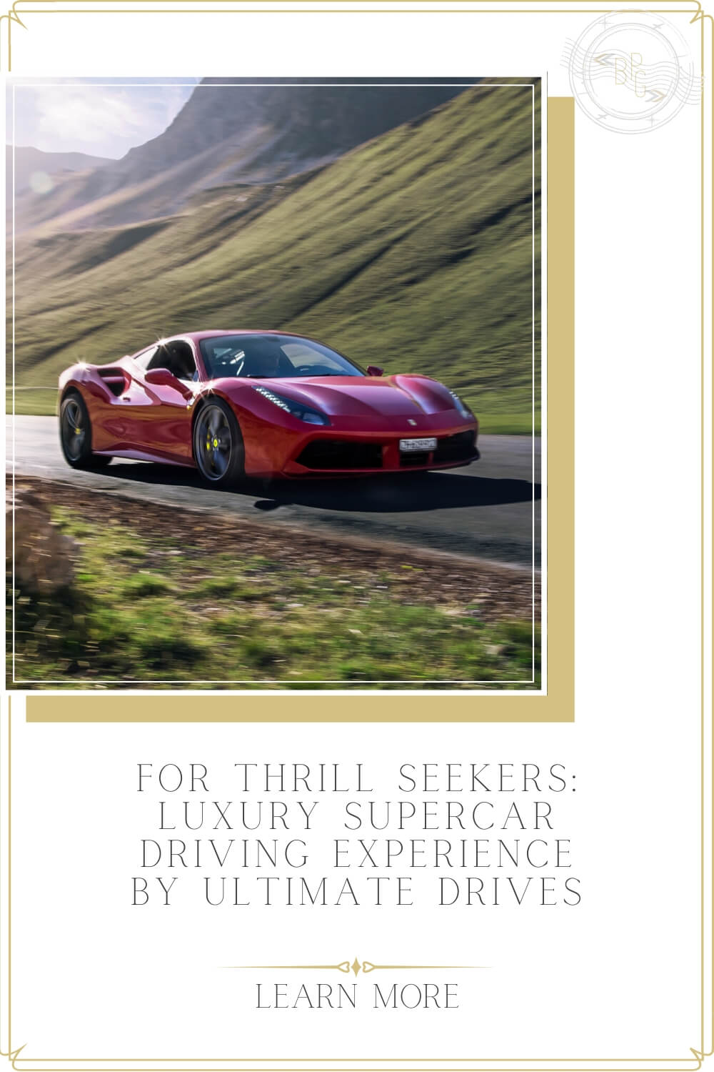 Luxury Supercar Driving Experience by Ultimate Drives