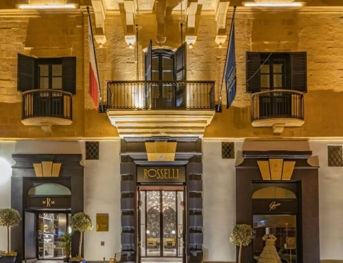 Rosselli Malta –  Five Star Opulence in Valletta, a UNESCO World Heritage Site