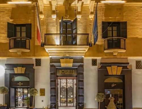 Rosselli Malta –  Five Star Opulence in Valletta, a UNESCO World Heritage Site