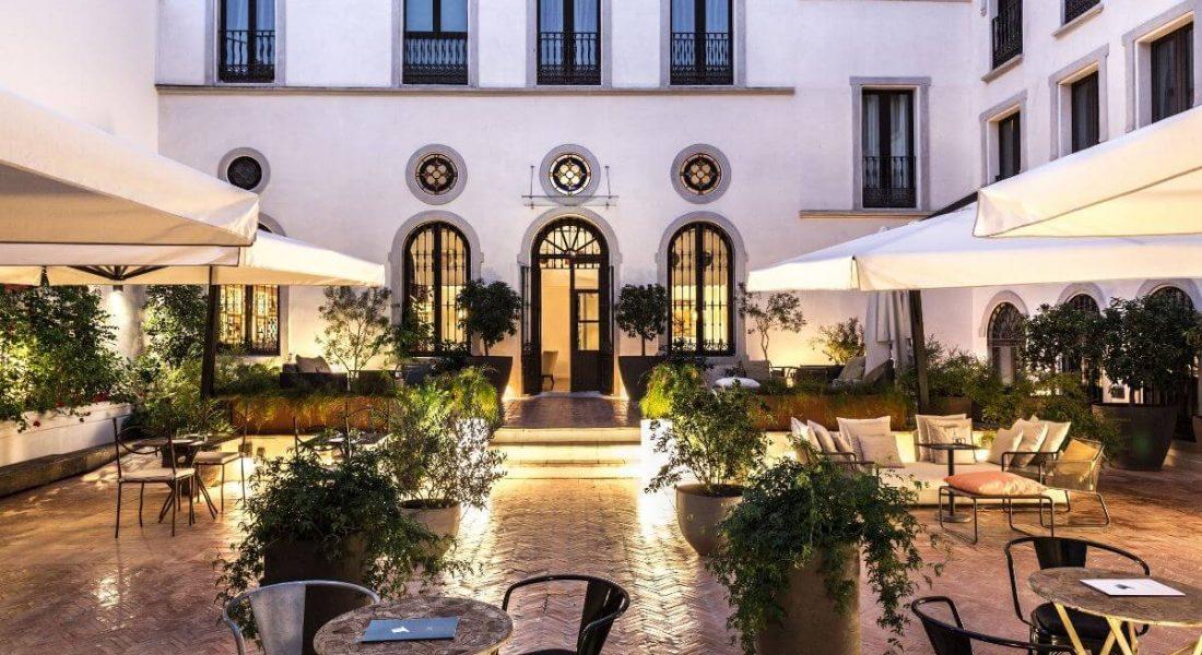 AUCTION NEWS – Aristocratic Palace in Seville, Spain – 2 Nights at Palacio de Villapanés SLH