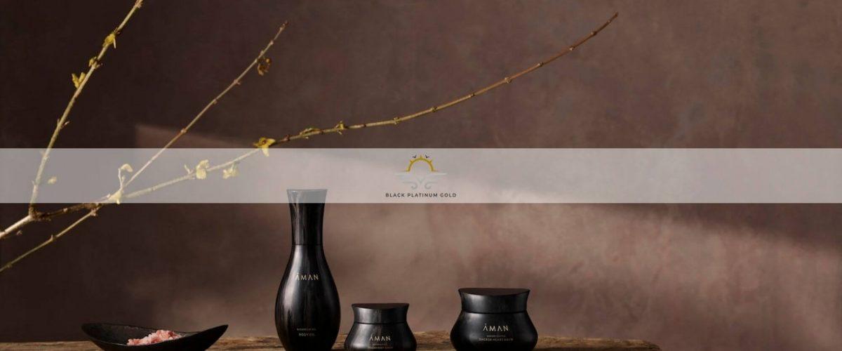 Luxury Beauty – Discover the holistic Aman skincare brand   Black Platinum Gold