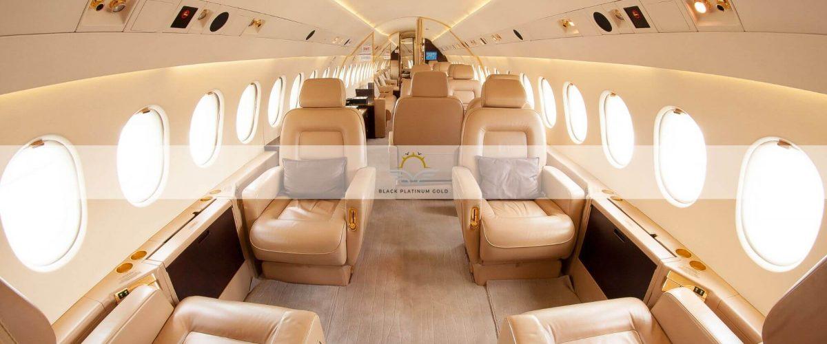 Private Jet Experience – Black Platinum Gold