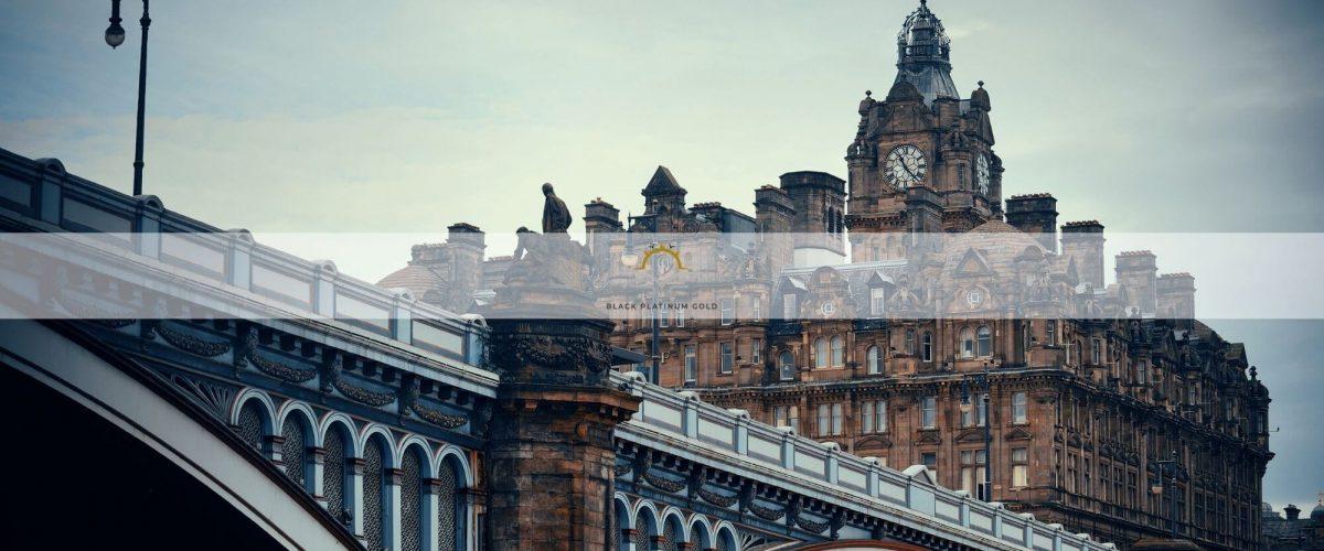 Royal Experience at the Balmoral Hotel – Edinburgh, UK | Black Platinum Gold