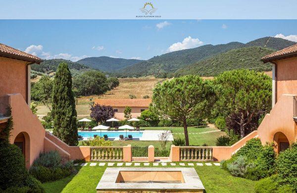 L'Andana Resort, Tuscany – Quintessentially Italian Lifestyle   Black Platinum Gold