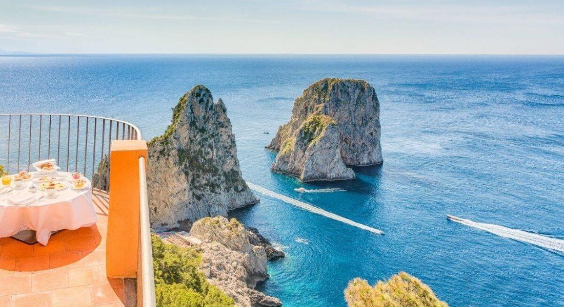 Punta Tragara Hotel – Capri, Italy