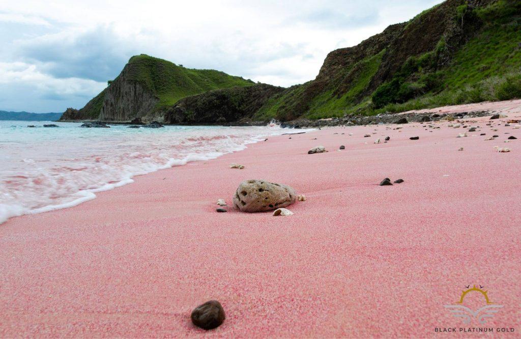 8 Wonderful Pink Sand Beaches around the World | Black Platinum Gold