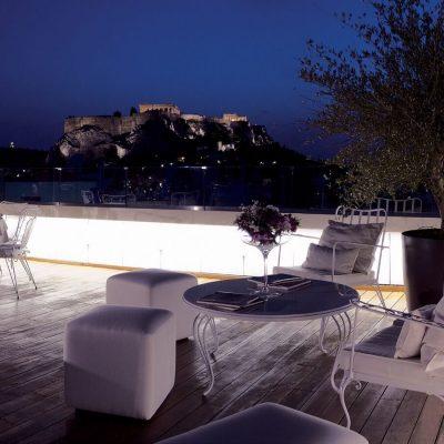 Athens, Greece – 2 Nights at NEW Hotel, Art Installation