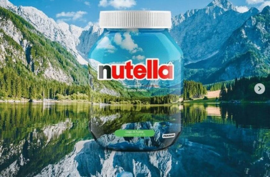 Tourism: Nutella celebrates the beauty of Italy