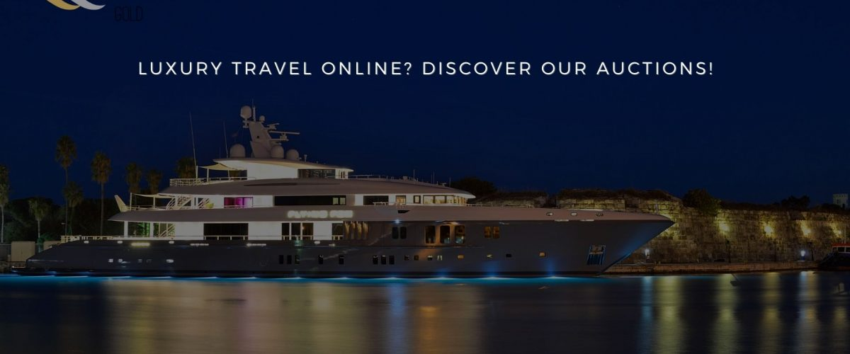 Luxury Travel online Discover our Auctions! - black platinum gold