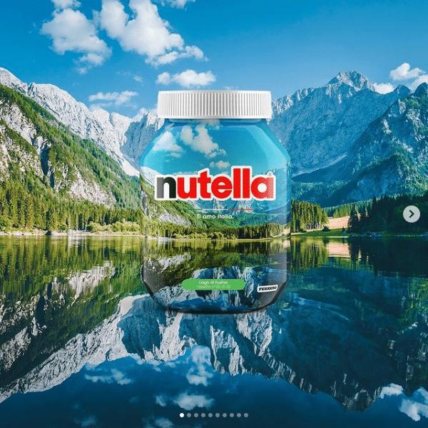 Tourism: Nutella celebrates the beauty of Italy