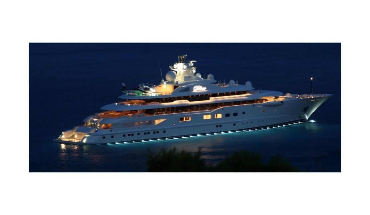 World's Top 5 Most Expensive Superyachts