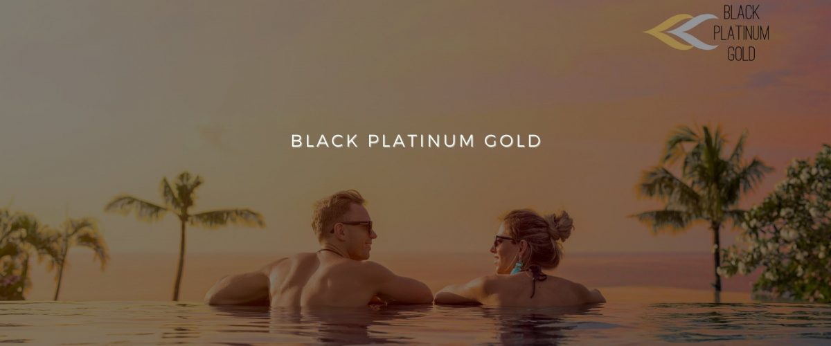 black platiumg gold, auctions online luxury travel, aste viaggi online