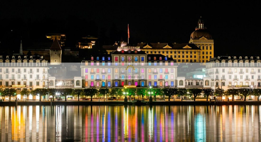 Switzerland's City of Lights – Hotel Schweizerhof Luzern