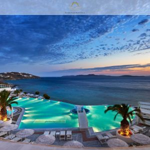 Saint John Mykonos Resort – Great Glamour in Greece | Black Platinum Gold