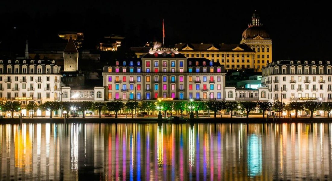 Switzerland's City of Lights – Hotel Schweizerhof Luzern