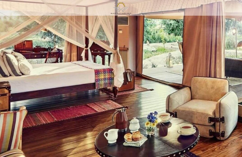 Top 6 Most Remote Glamping Sites in the World   Black Platinum Gold