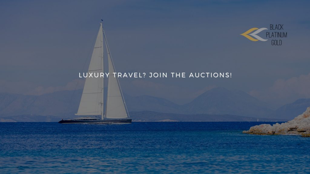 Luxury travel Occasions Join the auctions!, black platinum gold