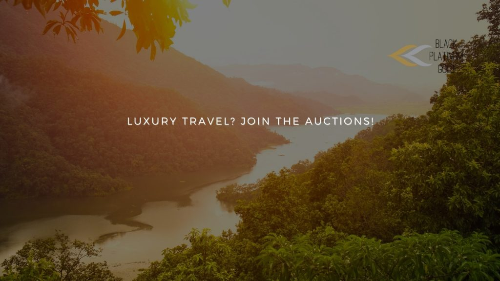 Luxury travel Occasions Join the auctions!, black platinum gold(1)