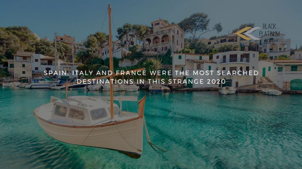 Spain, Italy and France were the most searched destinations in this strange 2020, auctions luxury travel(1)