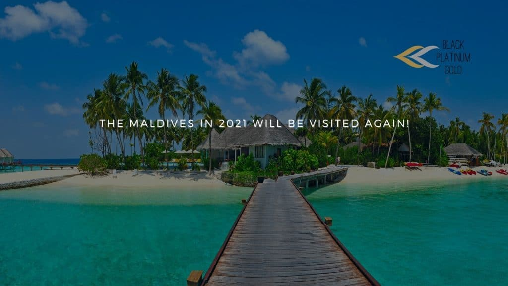 The Maldives in 2021 will be visited again!, black platinum gold(1)