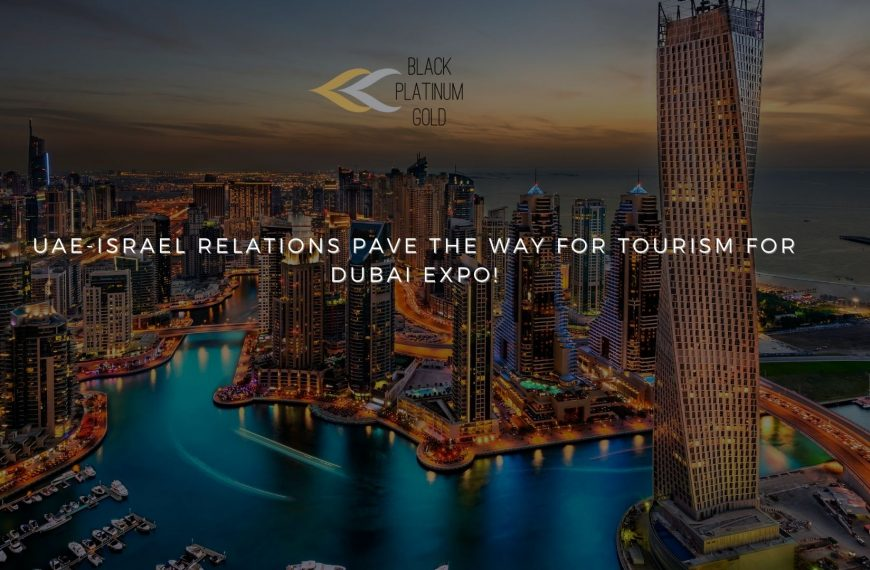UAE-Israel relations pave the way for Tourism for Dubai Expo!