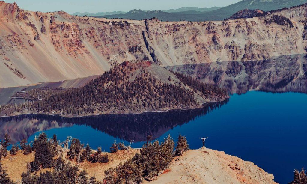 Crater National Park in Oregon