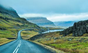 Iceland: Travel to the Land of Fire & Ice - Black Platinum Gold