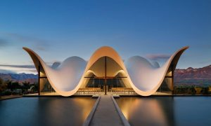 Bosjes Chapel – Worcester, South Africa – Black Platinum Gold