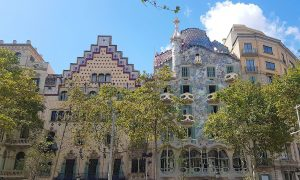 Casa Batlló Barcelona, Spain – Black Platinum Gold