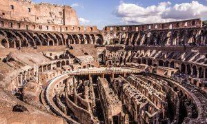 Colosseum – Rome, Italy – Black Platinum Gold
