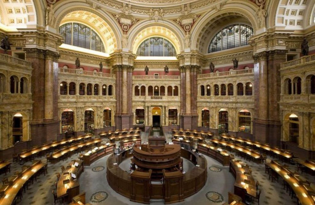 Top 10 Most Beautiful Libraries in the World | Black Platinum Gold