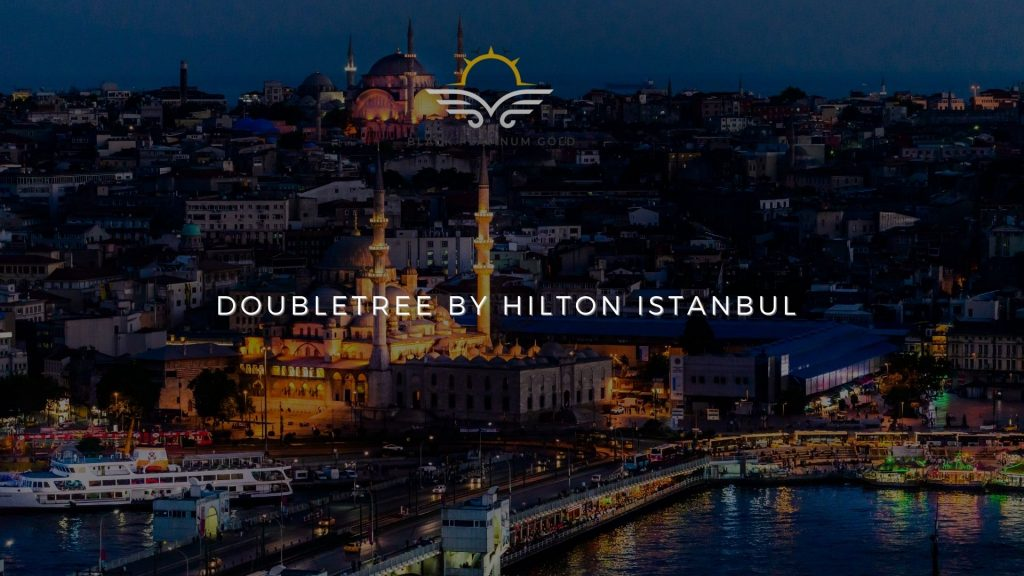 DoubleTree by Hilton Istanbul, online auctions luxury black platinum gold