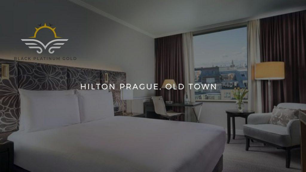 Hilton Prague, Old Town, online auctions luxury black platinum gold