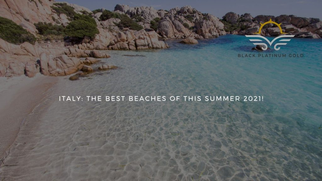 Italy The best beaches of this summer 2021!, online auctions luxury black platinum gold(1)