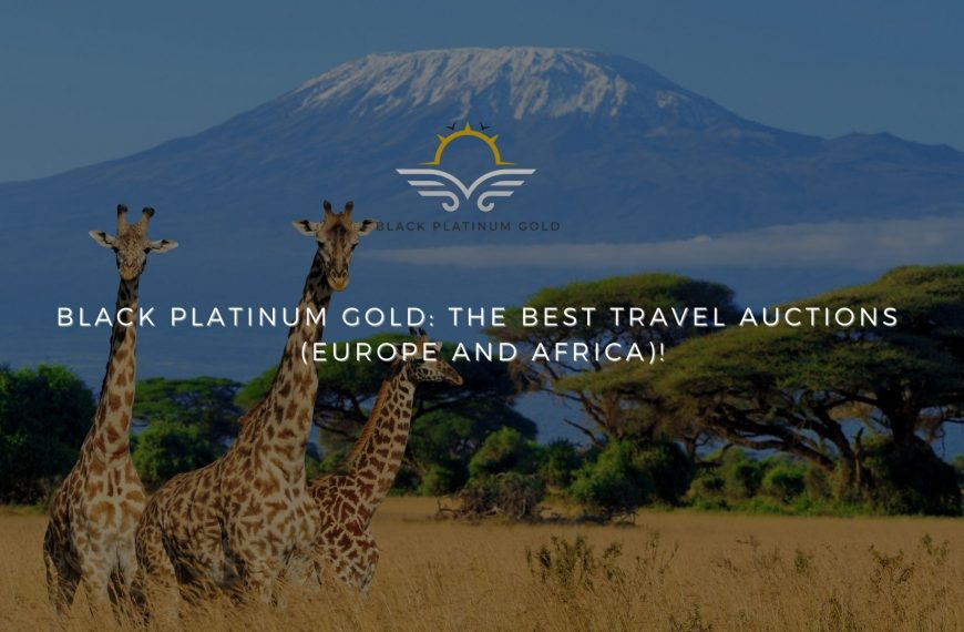 Black Platinum Gold: the best travel auctions (EUROPE and AFRICA)