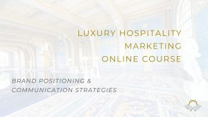 Black Platinum Gold's First Luxury Hospitality Marketing Course Unveiled