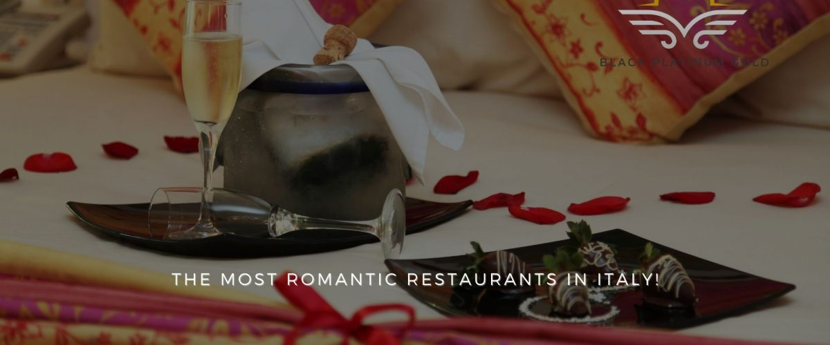 The most romantic restaurants (with terrace) in Italy!