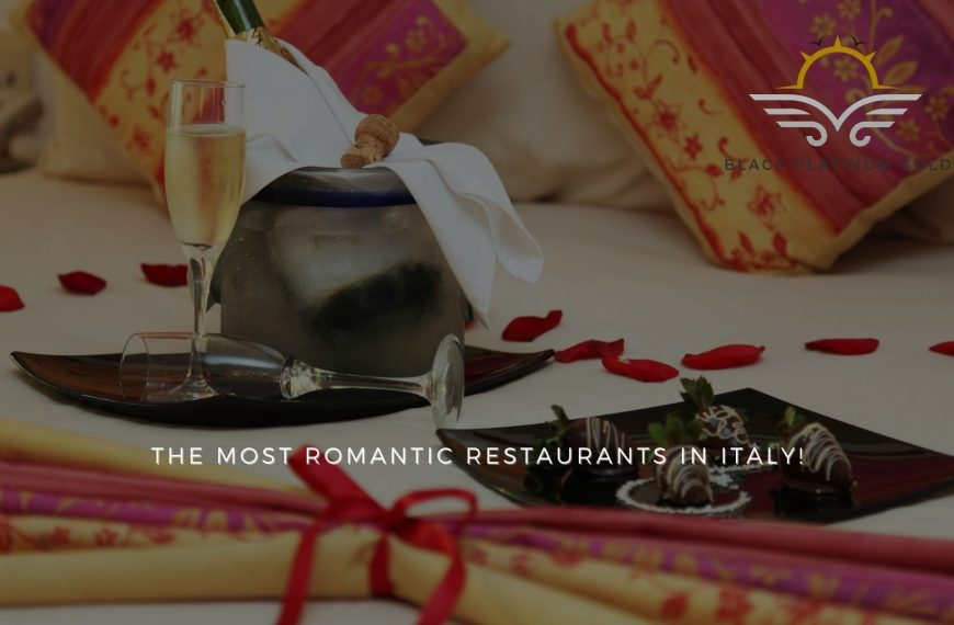 The 6 Most Romantic Restaurants in Italy
