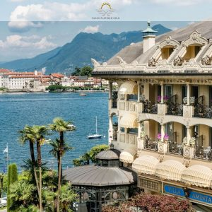 Villa & Palazzo Aminta – Belle Époque Mansion on Lake Maggiore, Italy | Black Platinum Gold