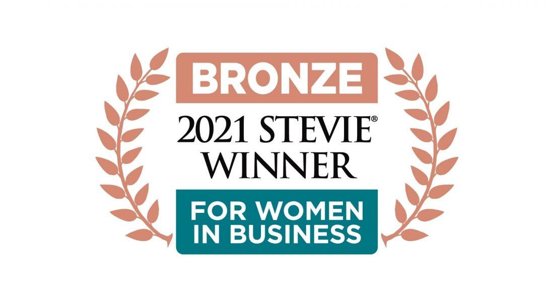 The Bronze Stevie Award for Female Solo Entrepreneur of the Year goes toBlack Platinum Gold CEO Viola Palescandolo