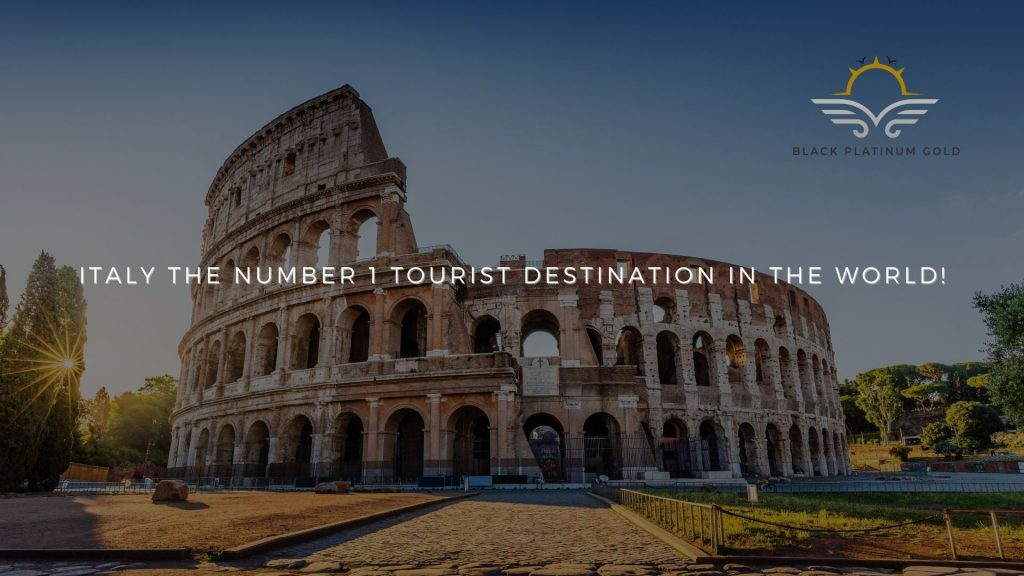 Italy the number 1 tourist destination in the world!(1)