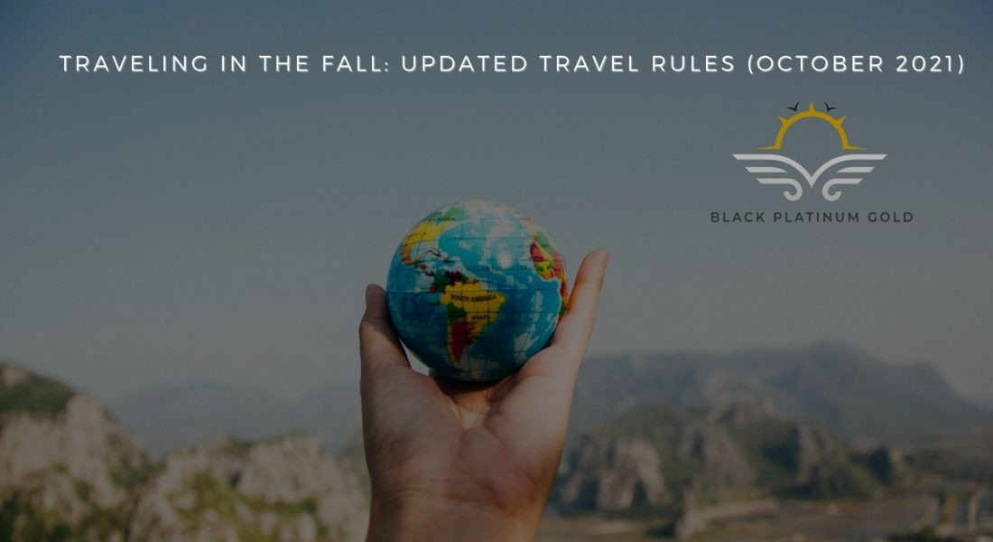 Traveling in the Fall: Updated Rules for Europeans (October 2021)