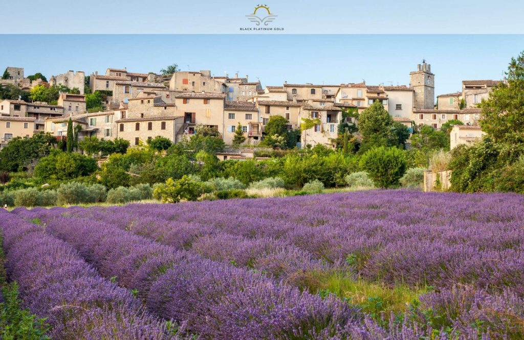 Here's Why The Most Beautiful Villages In France Are So Famous   Black Platinum Gold